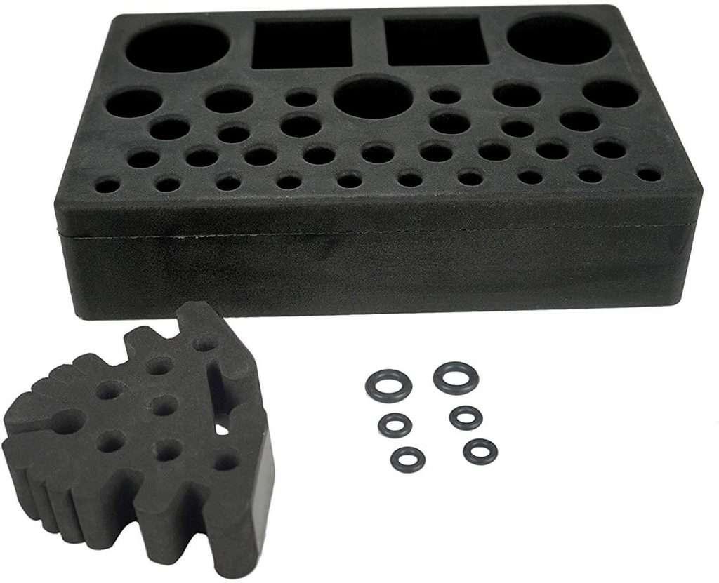 Aventik High Density Foam Fly Tying Vise Tool Holder Tool