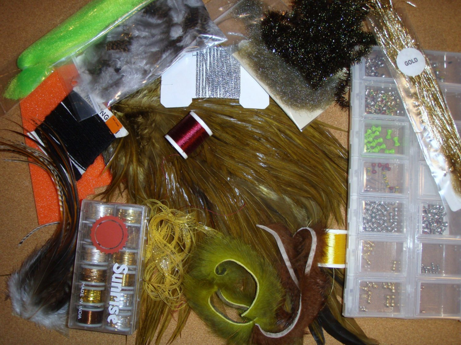 Fly-tying-materials