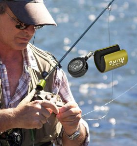 Smith Creek Rod Clip, Wearable Fishing Rod Holder