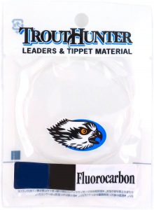 TroutHunter Fluorocarbon Leader 9ft, 3 Pack
