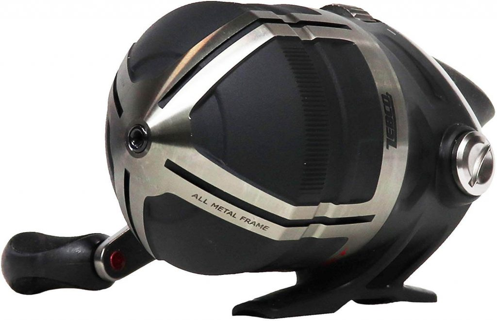 Zebco Bullet Spincast Reel with Reel Cover
