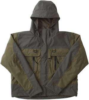 Caddis Men's Green Natural Breathable Wader Jacket