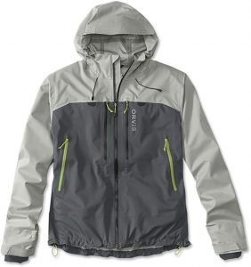 Fly fishing wading jacket