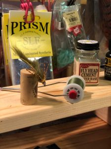 Fly Tying Bench Streamer
