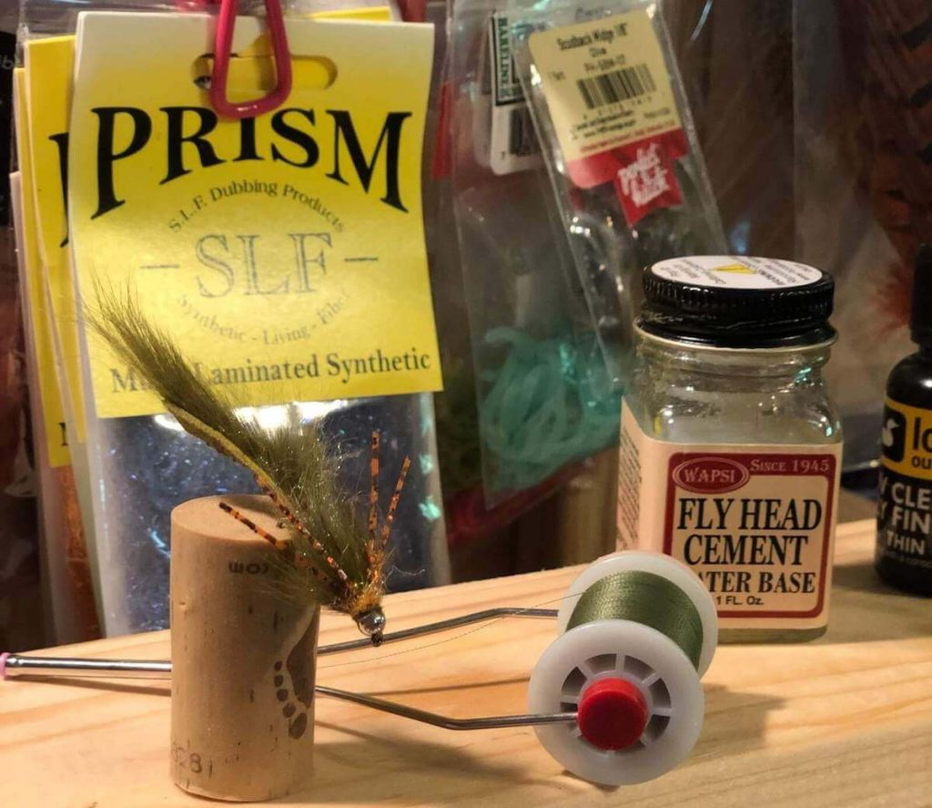 streamers fly tying