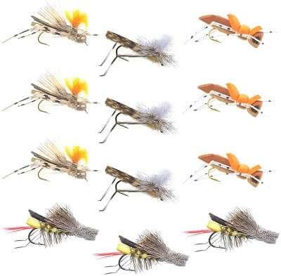Assorted Hopper Flies
