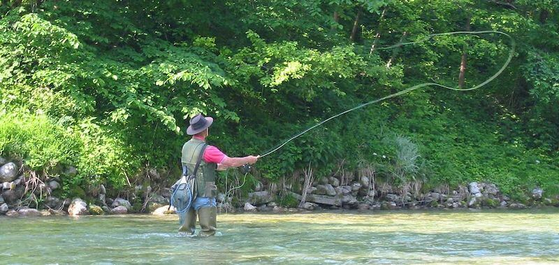 Fly fishing-vest-hip-boots