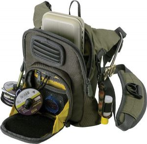 Allen Fall River Fishing Chest Pack