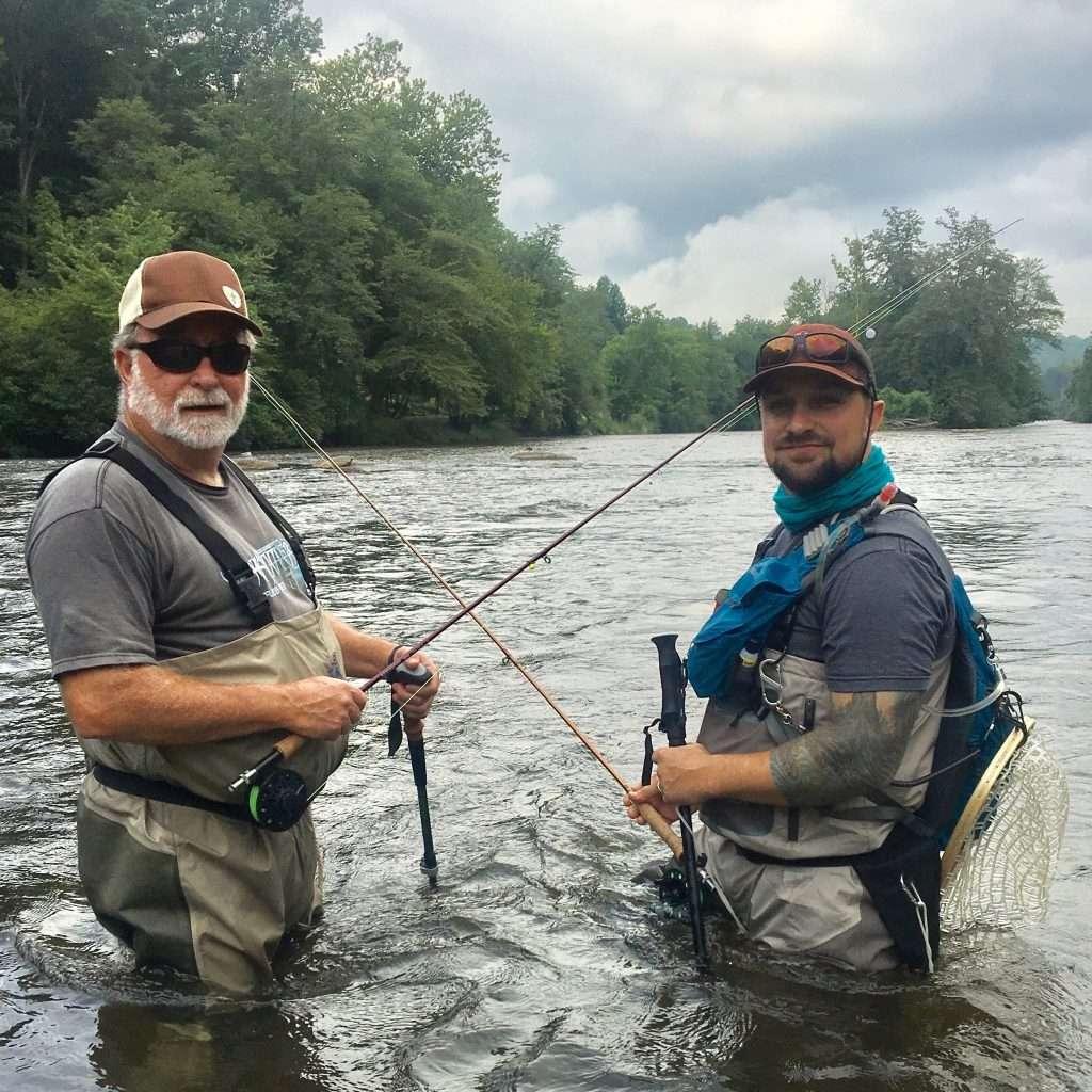 Fishing-tuck-wading-staff