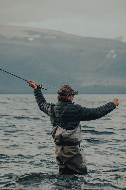 Gaspar Zaldo Man Fishing